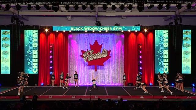 Black Widow Cheer Gym Passion Sr Sm Comb 4.2 - Canadian Finals
