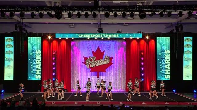 Cheer Sport Sailfin Sharks Senior Med 4 - Canadian Finals