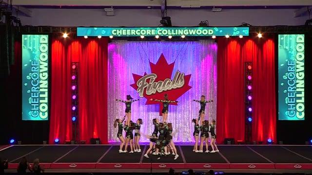 CheerCore Collingwood Gold Senior Sm 4 - Canadian Finals