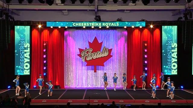 CheerStrike Royals Legacy Junior Sm 4 - Canadian Finals