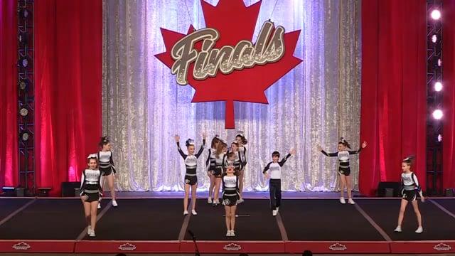 Sparks Cheerleading Big Boom Yth X-Sm 2  - Canadian Finals
