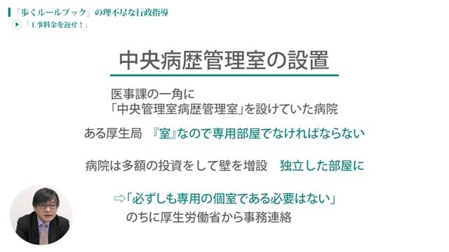[case:03 #4] 理不尽な行政指導「工事料金を返せ!」(病院経営ケーススタディー )