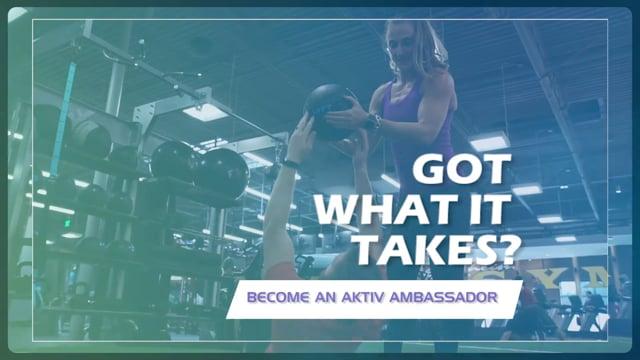 Got Drive? Aktiv Ambassador Search