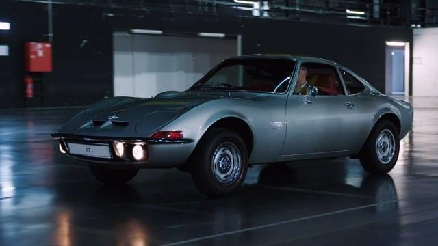 50 Jahre Opel GT Footage 04-2018