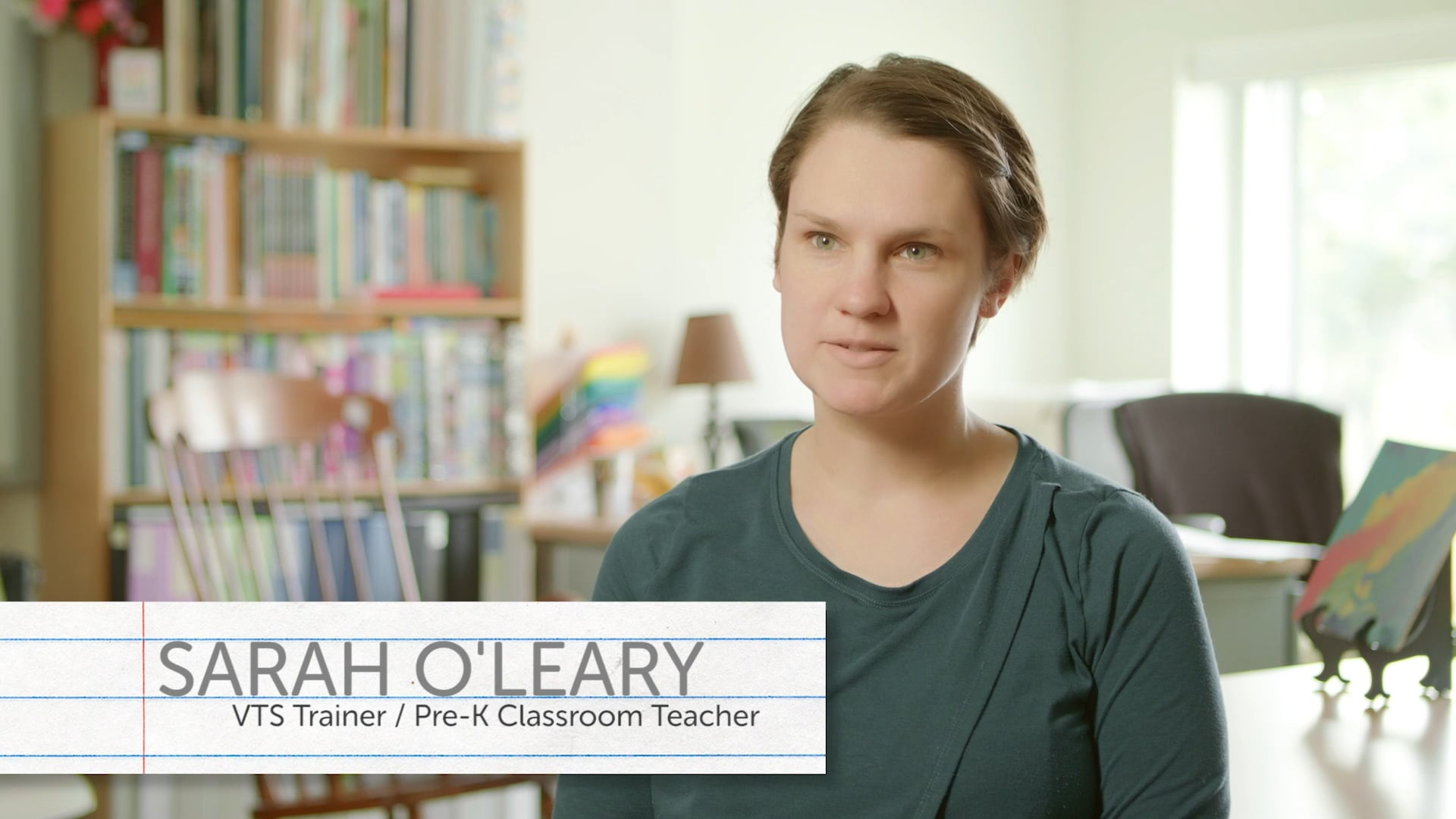 Sarah O'Leary on VTS in Early Childhood education