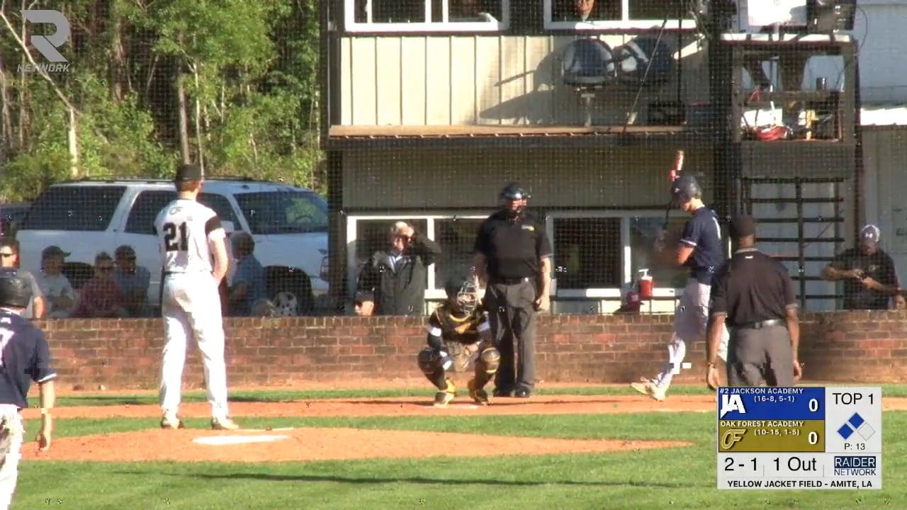 Varsity Baseball-2018-Apr-10-Oak Forest Academy
