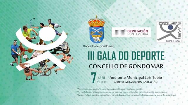 III Gala do deporte de Gondomar