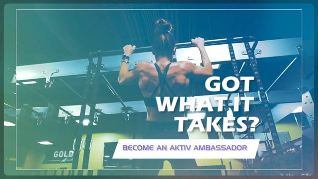 Got Strength? Aktiv Ambassador Search