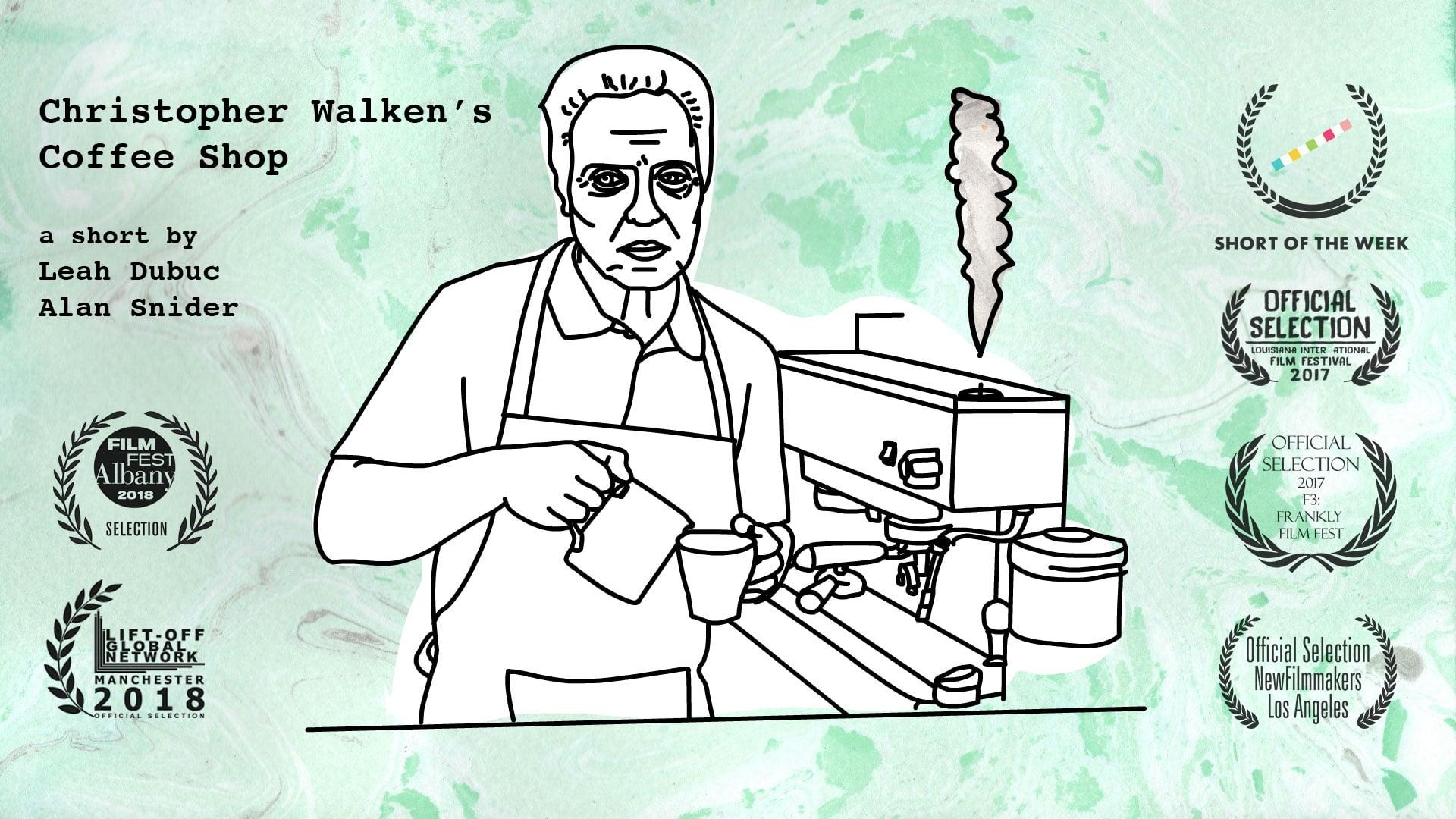 Christopher Walken's Coffee Shop