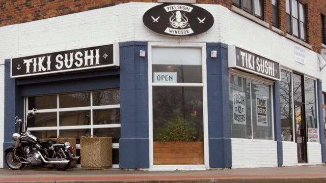 Tiki Sushi - Tuna Tataki