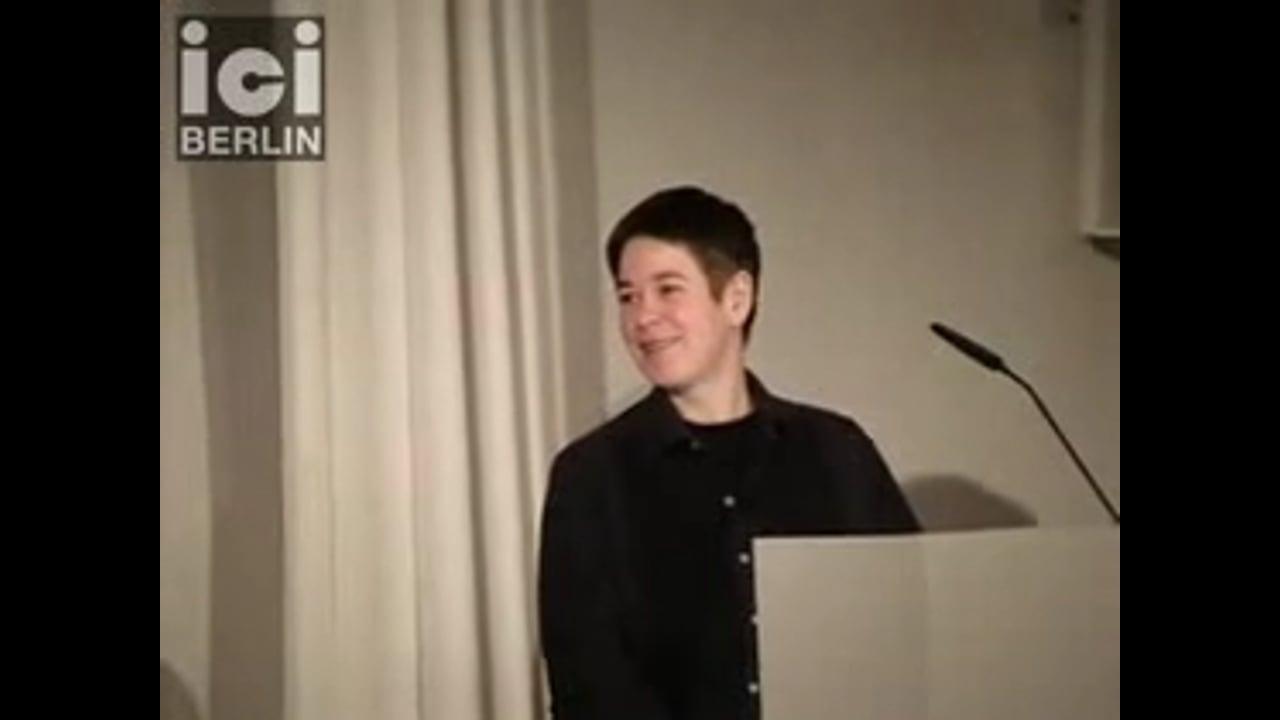 Introduction by Antke Engel