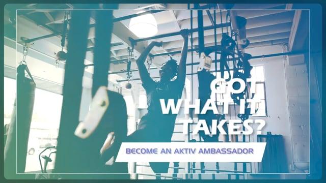 Got Passion? Aktiv Ambassador Search