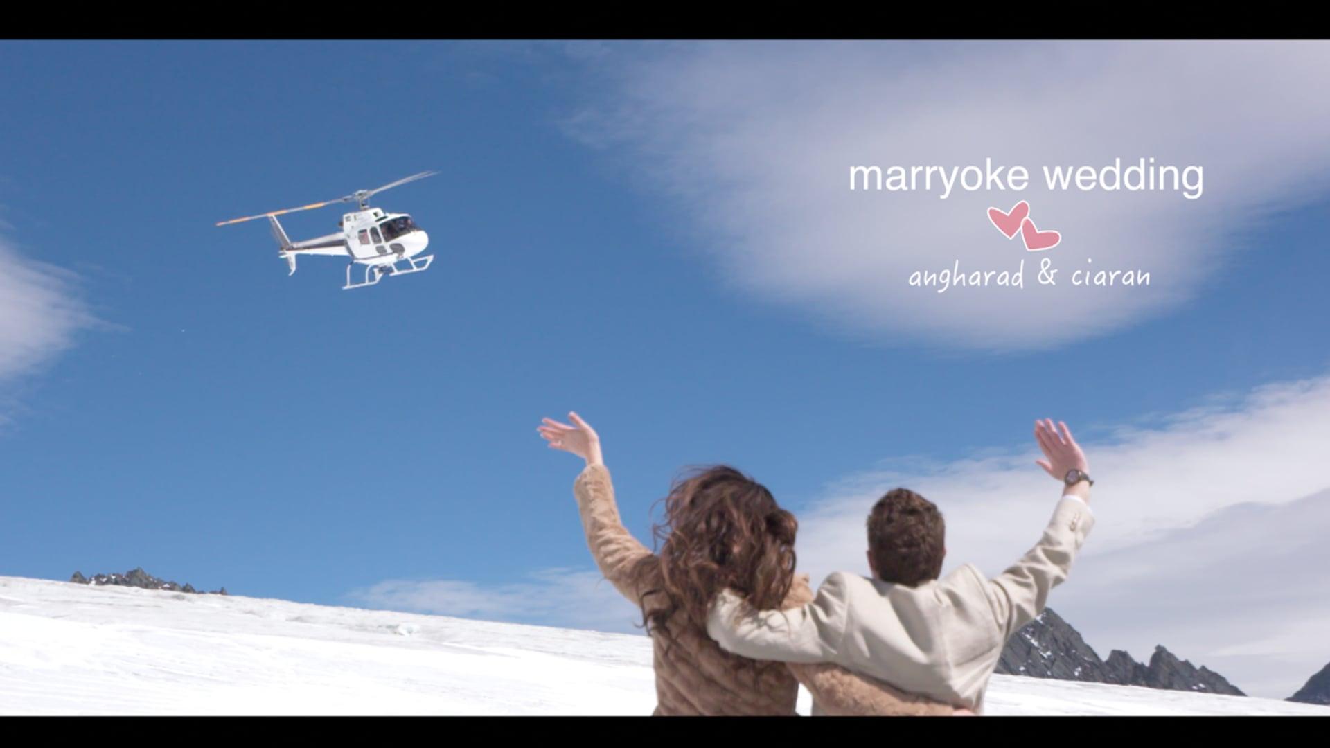 MARRYOKE Wedding   Angharad & Ciaran // New Zealand // Wanaka