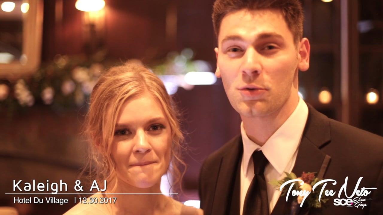 Kaleigh & AJ at Hotel Du Village TESTA Testimonial- 123017