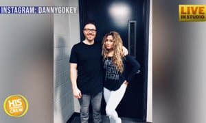 Leyicet Gokey Helps HIS Morning Crew Surprise Danny LIVE!
