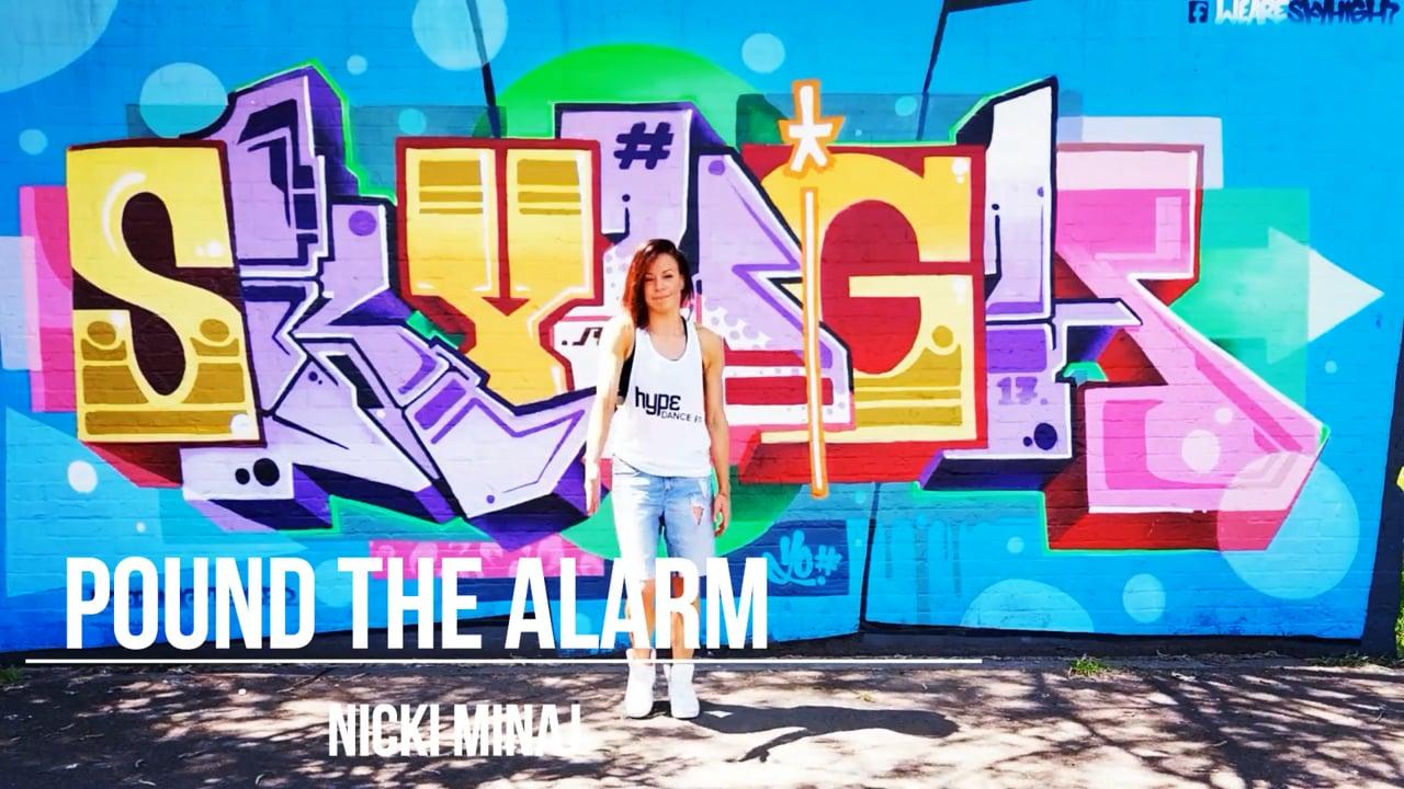 Pound The Alarm, Nicki Minaj MEDIUM