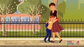 Травмированный ребенок в обществе и школе