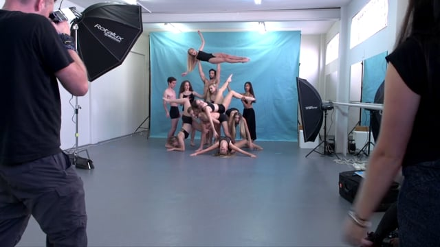 Behind the Scenes - photoshoot with JOZI Youth Dance Company