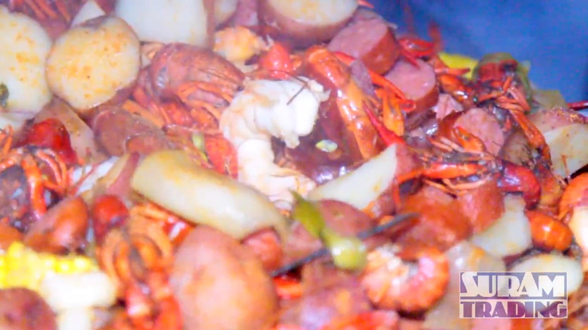 Crawfish Boil with Royal Eagle Shrimp Sponsor