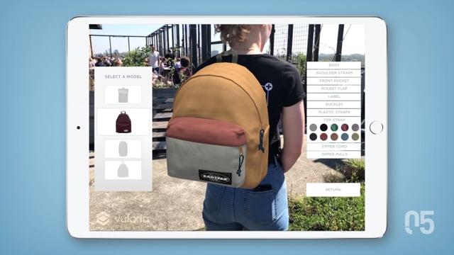 Backpack configurator