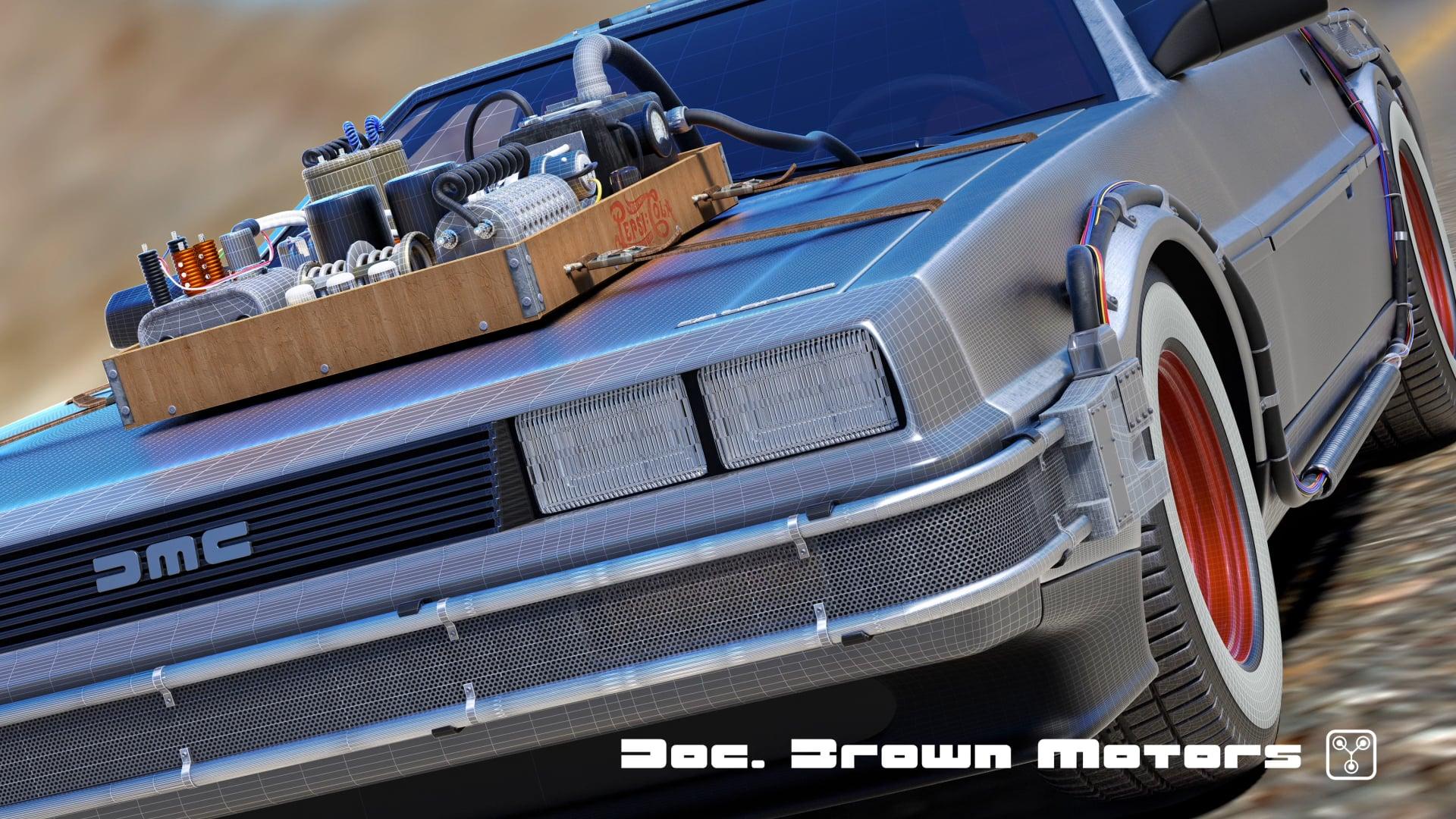 Doc Brown Motors Brochure
