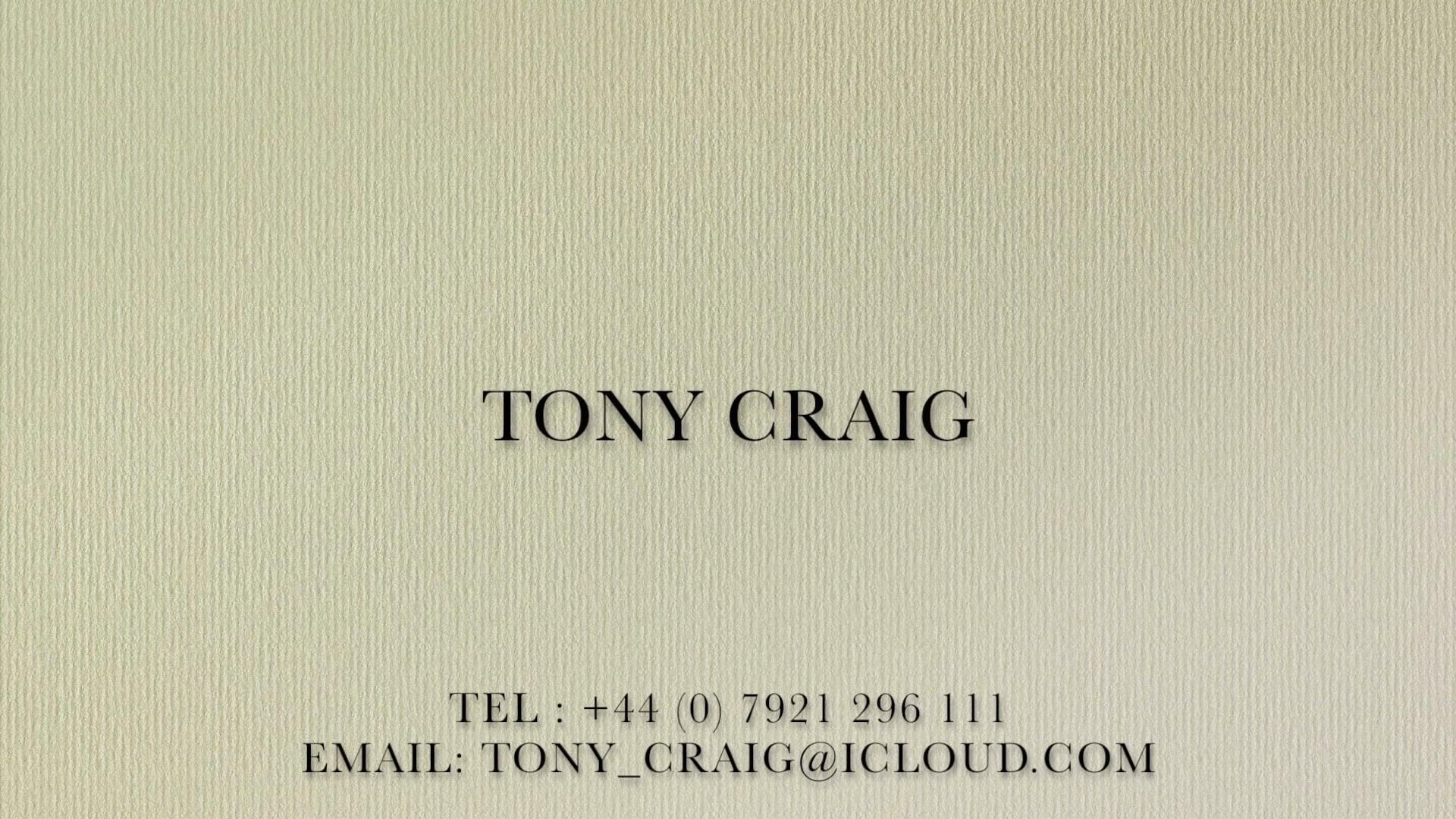 Tony Craig Reel 2018 - Extended Version