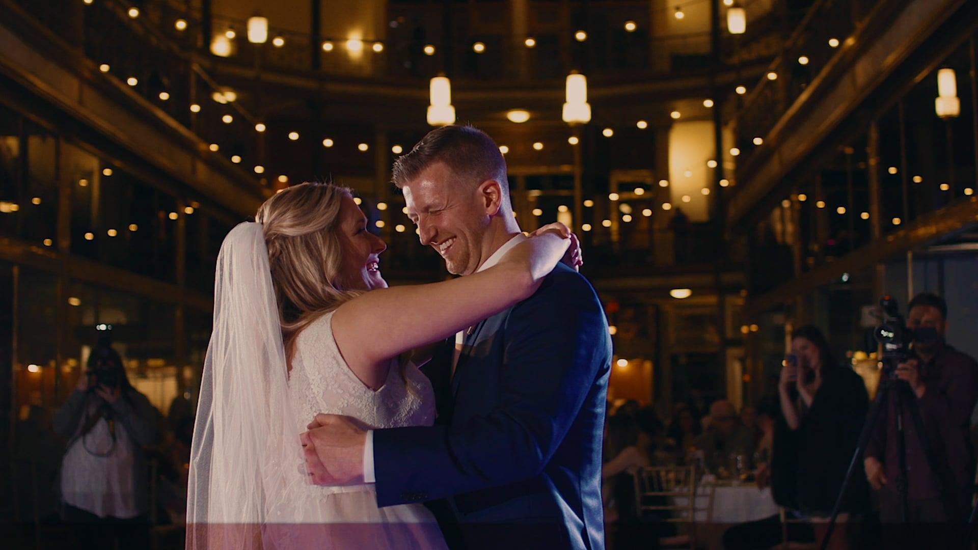 """Shelby & Brad"" Wedding Film - Hyatt Cleveland at The Arcade"