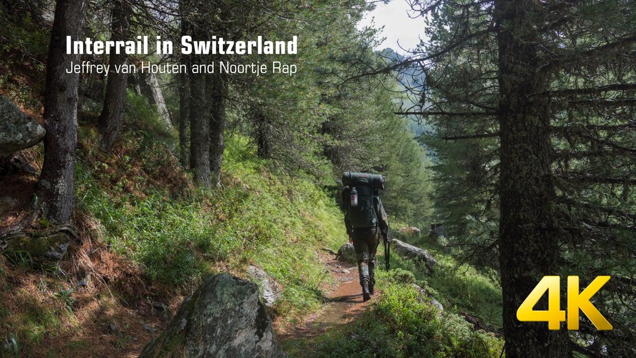 Interrail in Switzerland (4K)