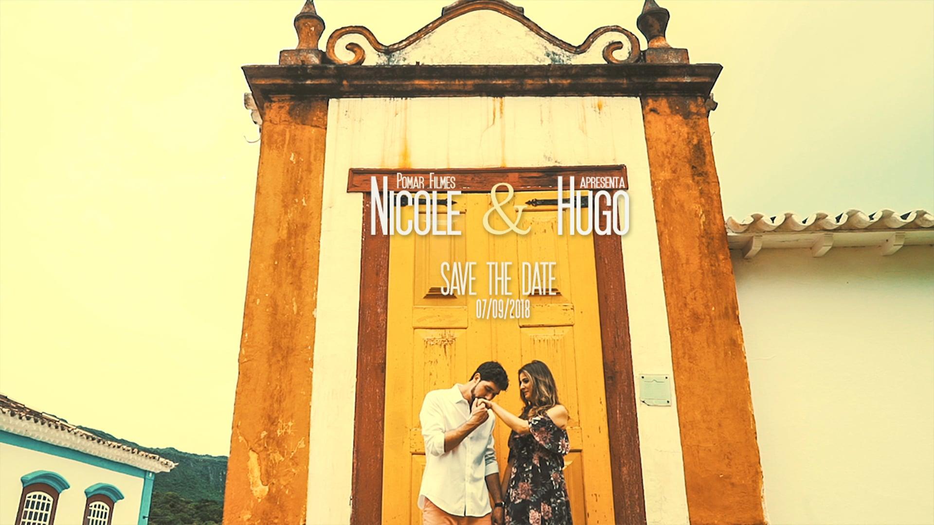 NICOLE E HUGO - SAVE THE DATE