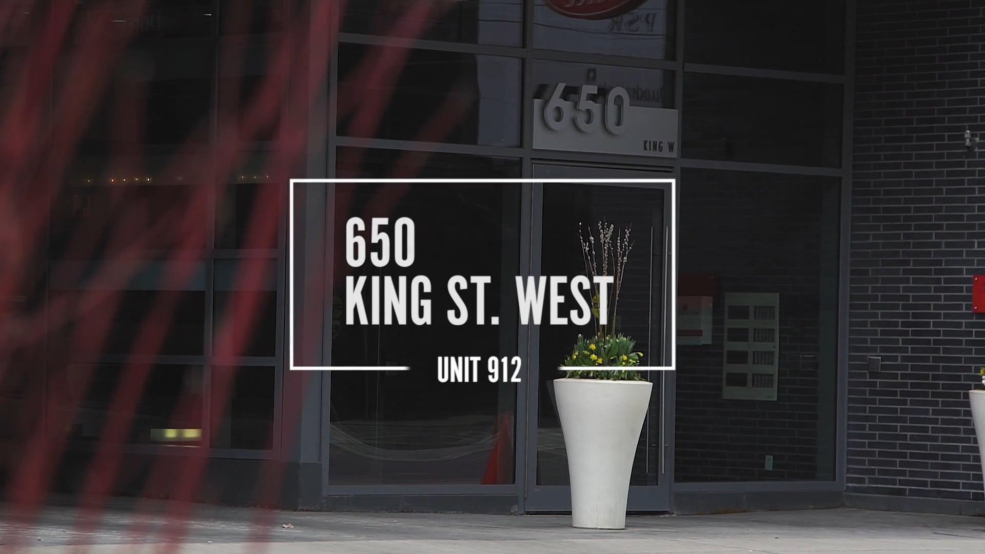 650 King St W 912