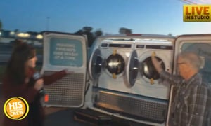 A Live Tour of For Frankie's New Mobile Washing Machine
