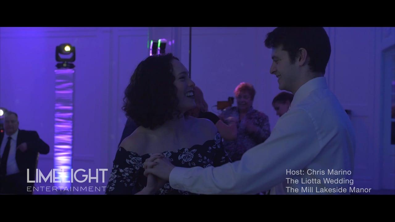 The Liotta Wedding   The Mill Lakeside Manor   Chris Marino of Limelight Entertainment