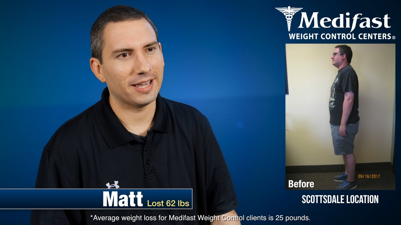 Matt Lost 62 lbs at Medifast - Says It's Been Life Changing!