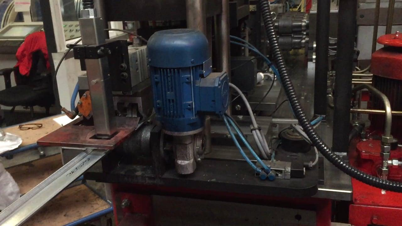 Citronix inkjet bedrukking op metaal vorm en buig installatie