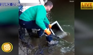 Group Uses Magnets to Fish for Sunken Treasures