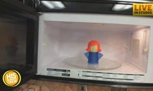Spring Clean Week: Angry Mama Microwave Cleaner