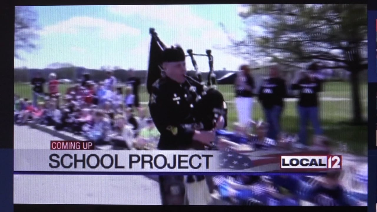 Kelly Elementary Gold Star Tribute - Local 12