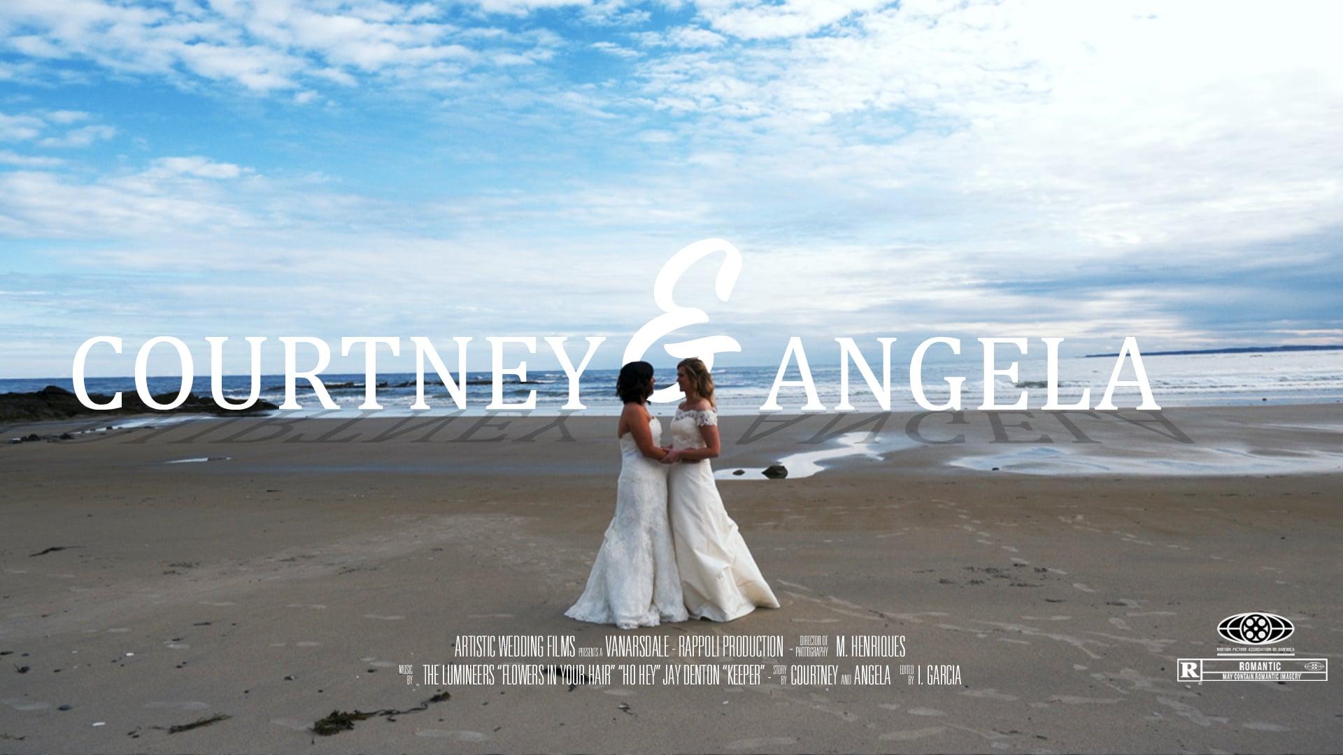 Kennebunkport, Maine Destination Wedding // Courtney & Angela's Wedding Highlight Film // The Big House //  9_30_2017