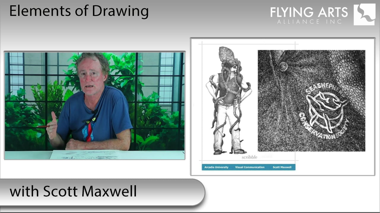 Elements of Drawing with Scott Maxwell