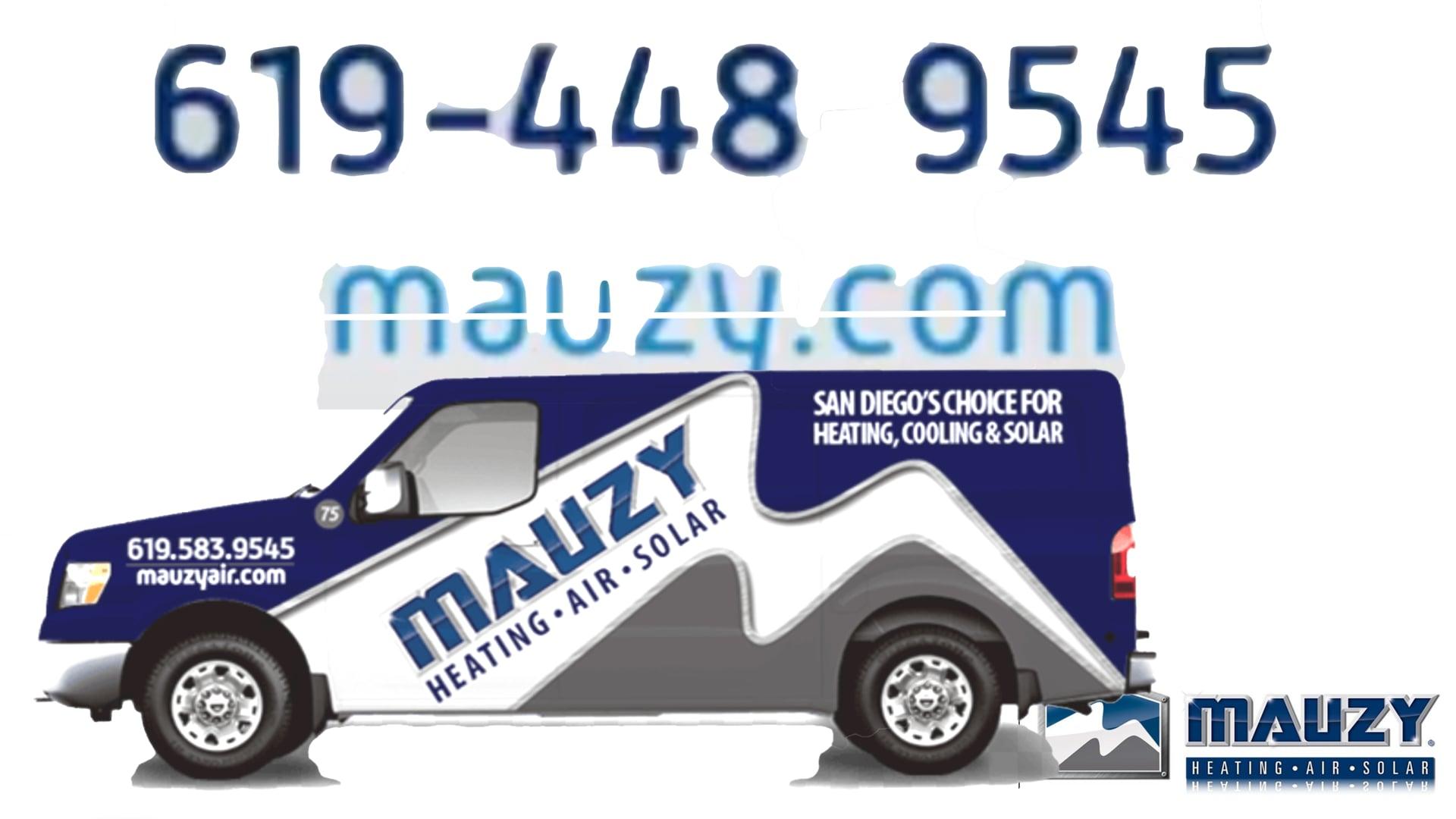 619-448-9545 Best HVAC Repair Company in San Diego California Mauzy.com
