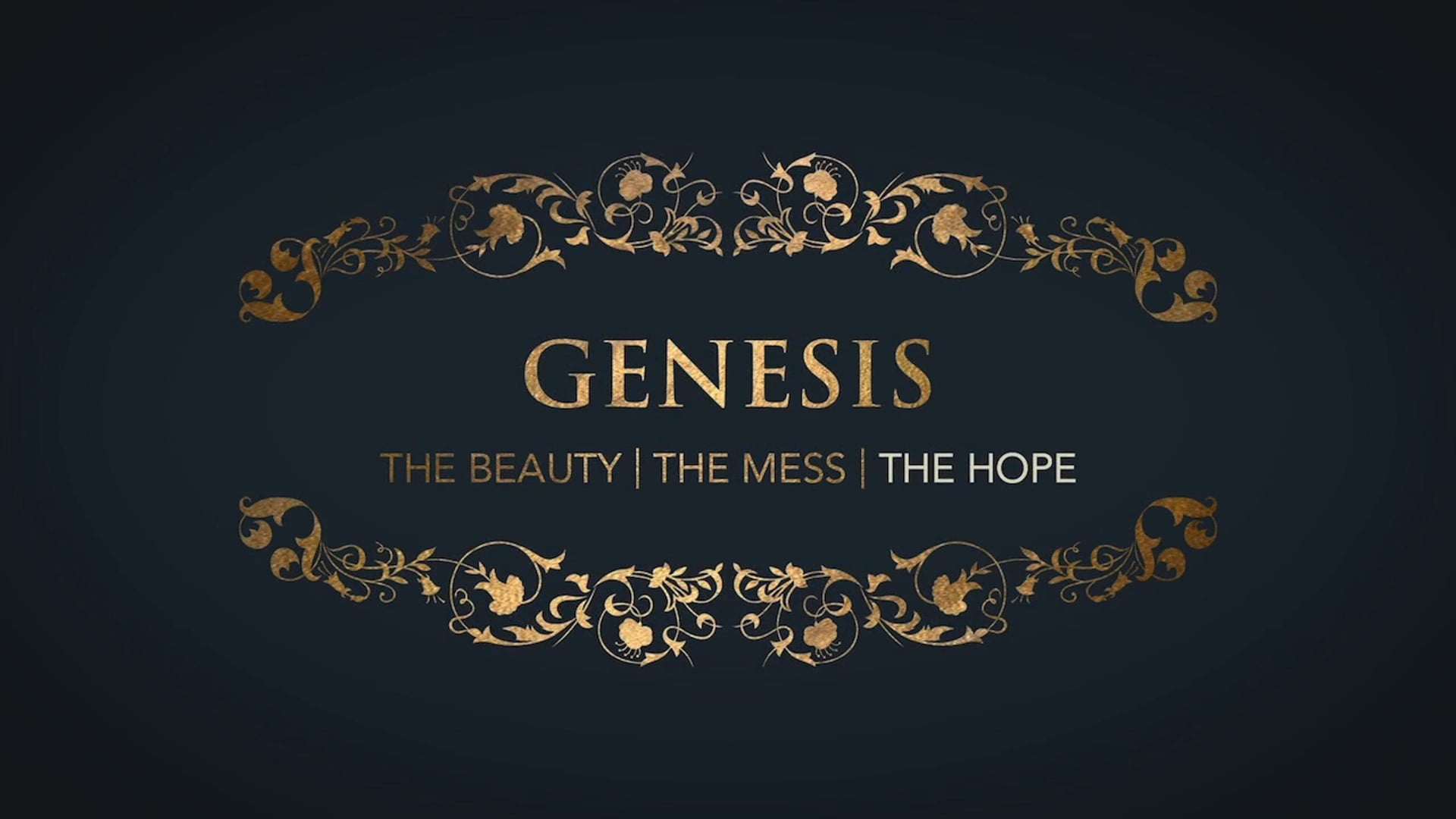 Week 5: Genesis: Hope in the God who Wounds