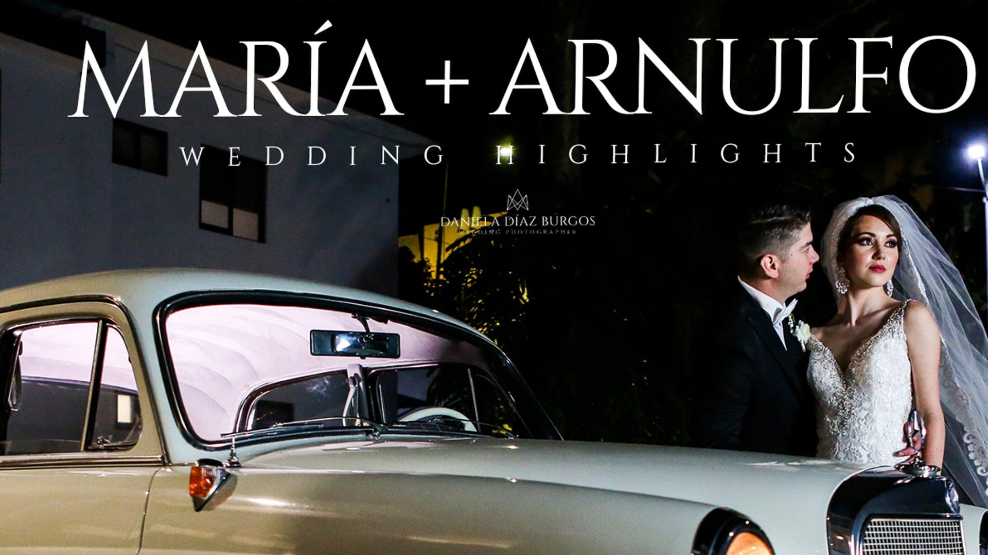 "María + Arnulfo ""Wedding highlights"""