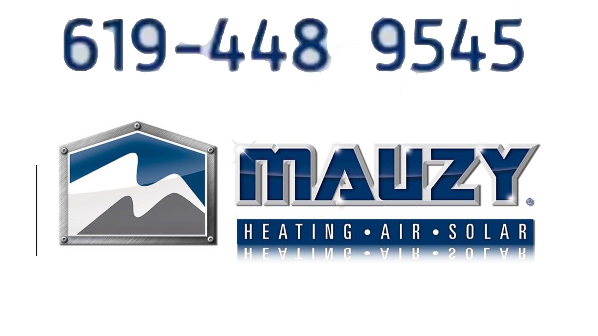619-448-9545 Best HVAC Company in San Diego Ca GO TO Mauzy.com