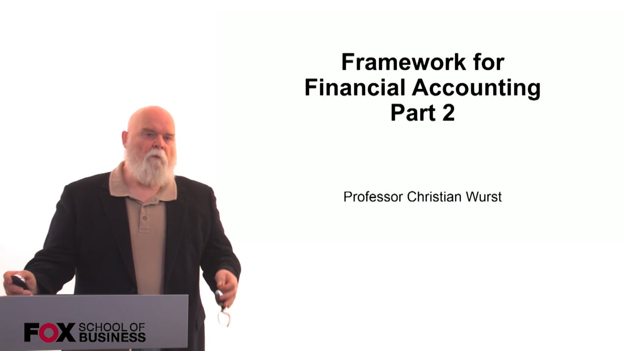 60883Framework for Financial Accounting Part 2