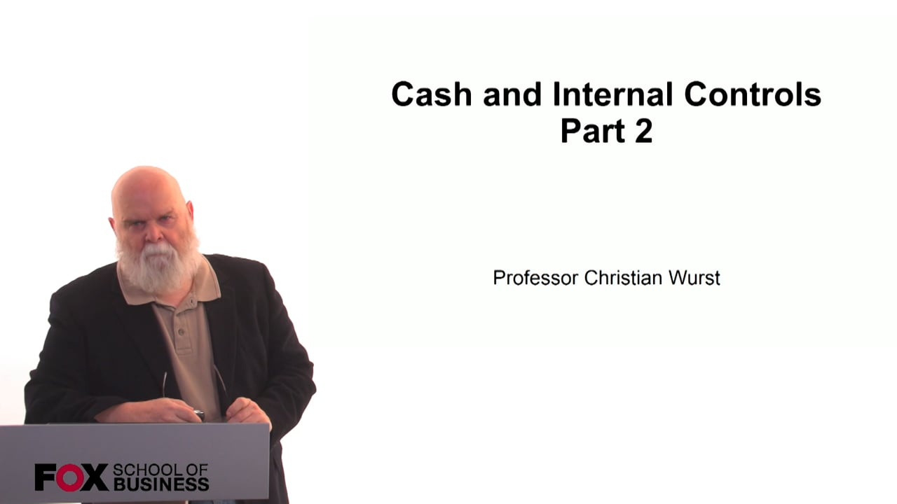 60887Cash and Internal Controls Part 2