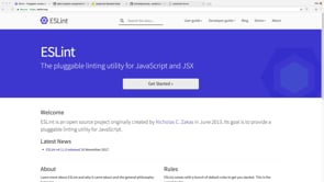 Automatic Code Review, Linting with ESLint