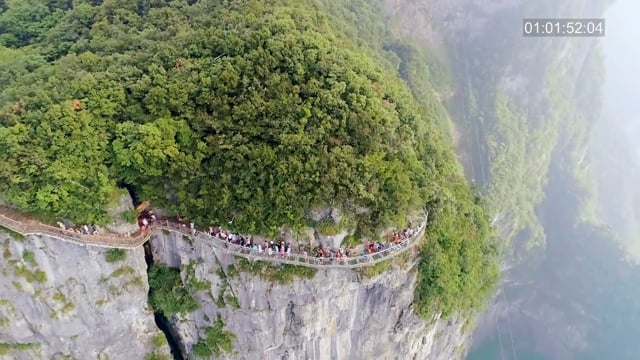 TOP OF THE WORLD - TIANMEN SKYWALK