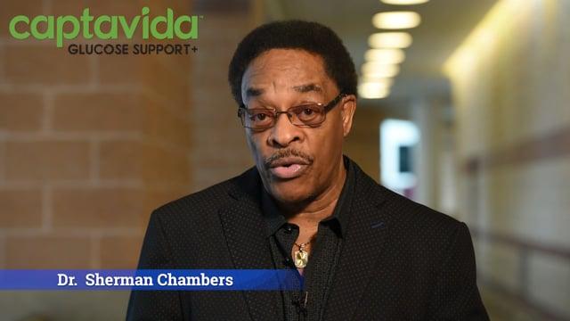 3325CaptaVida Glucose+ Testimonial: Sherman Chambers