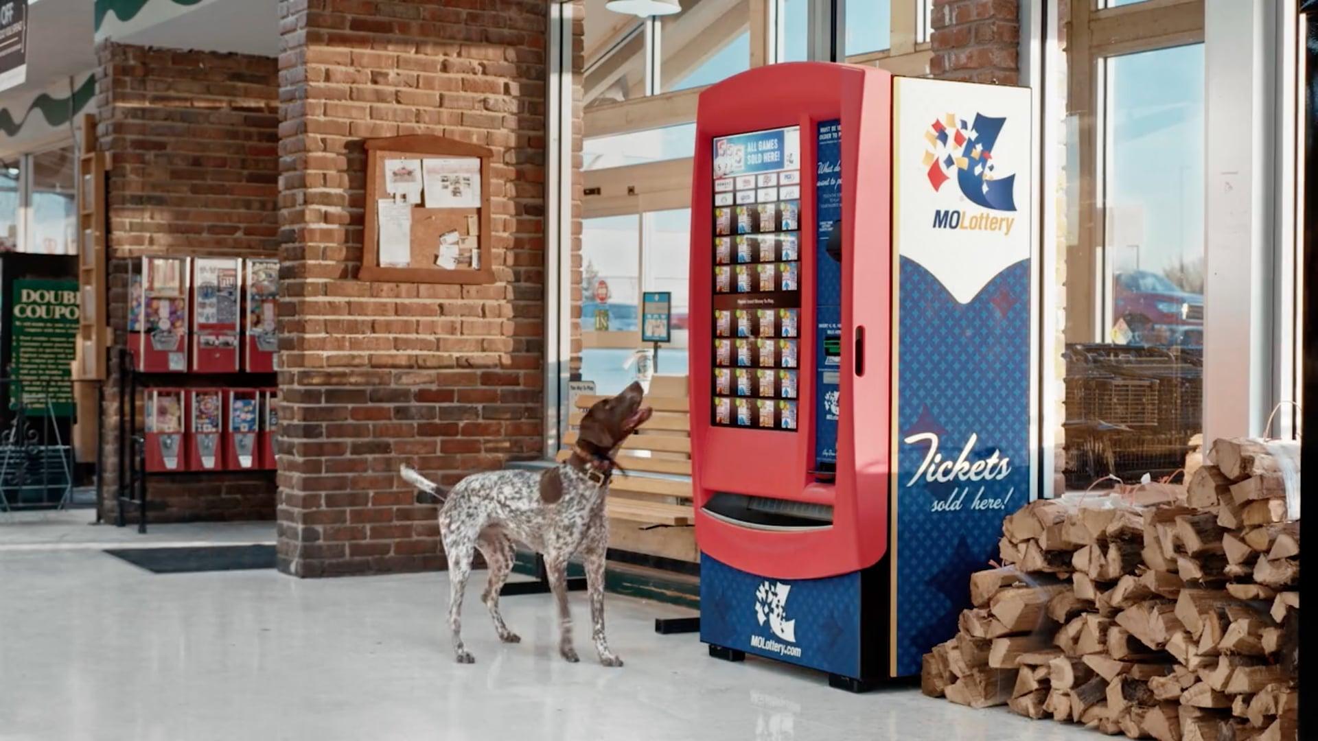 Missouri Lottery   Hunting Dog