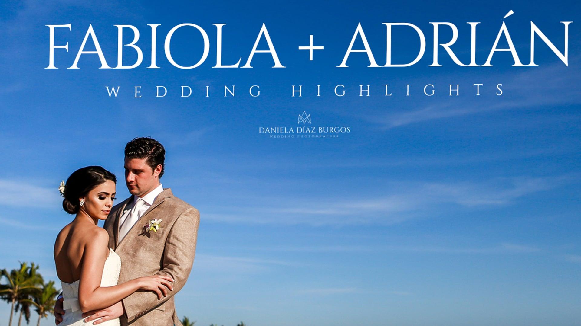 """Fabiola + Adrián """"Wedding highlights"""""""